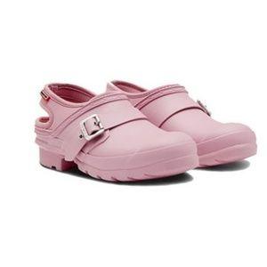 Original Hunter Slip on Clogs in Blossom Size 10
